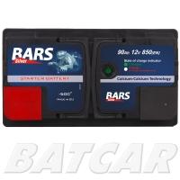 Bars Silver 12V 90Ah 850A/EN +Pol links